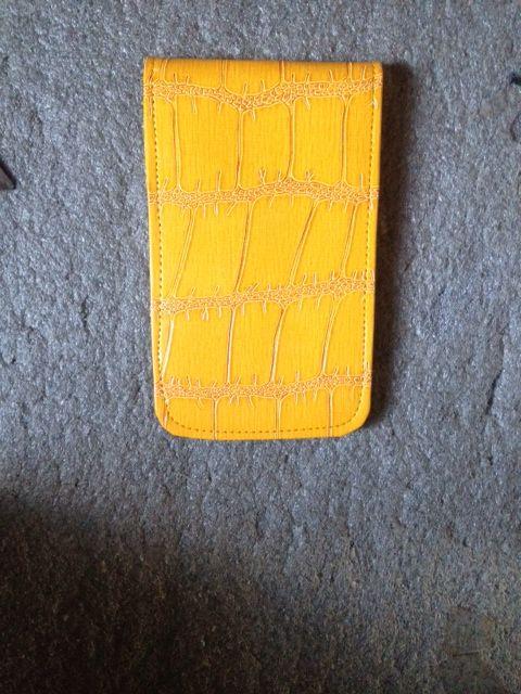 New Sunfish leather scorecard and yardage book holder