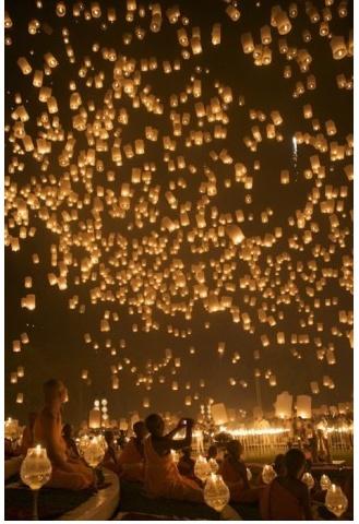 Festival des lanternes !