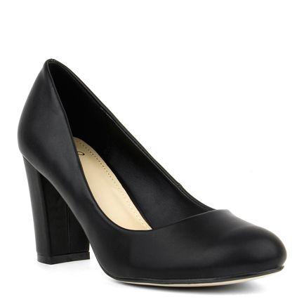 IDABELLE   Black Smooth   5   Novo Shoes