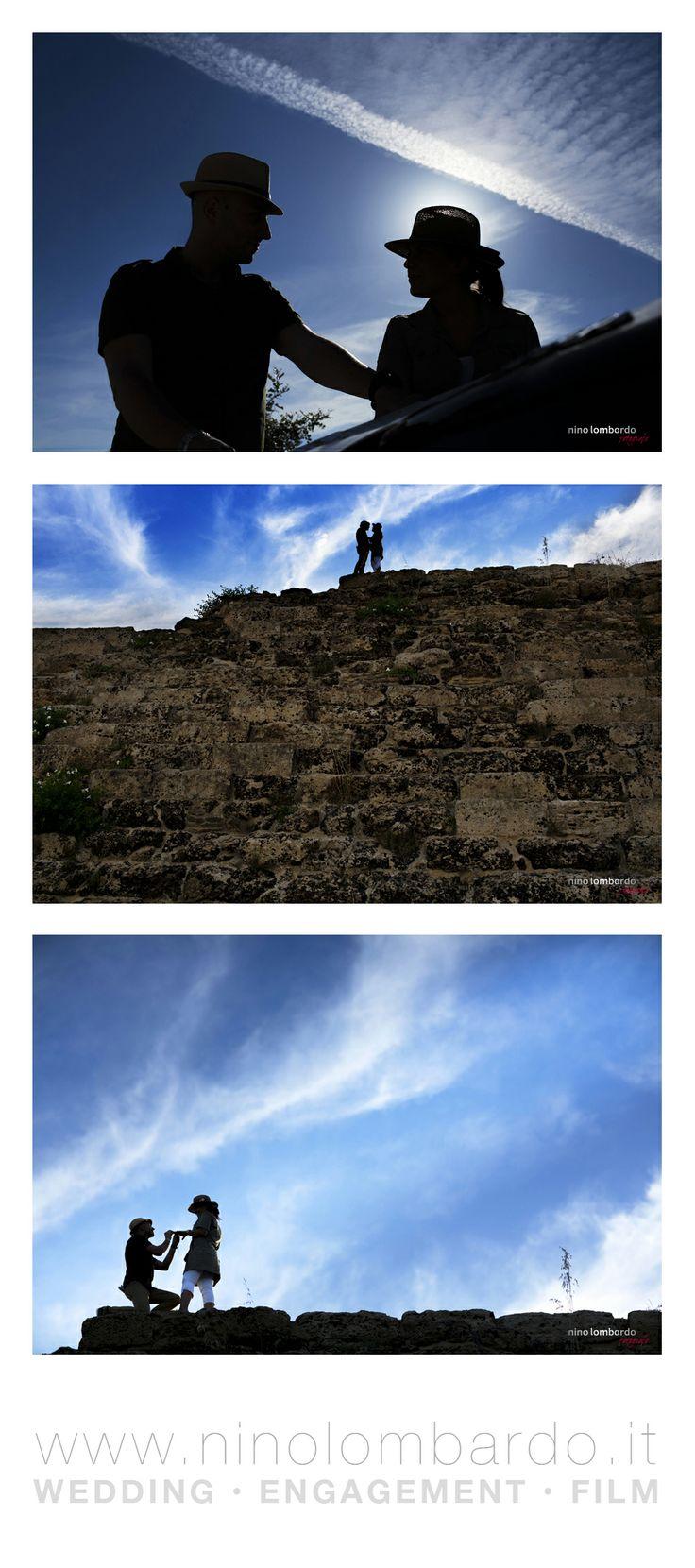 An adventurous marriage proposal ... • Engagement photo session • © www.ninolombardo.it