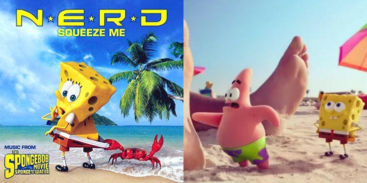 N.E.R.D Wiedervereinigung mit dem Song Squeeze Me für den neuen SpongeBob Film
