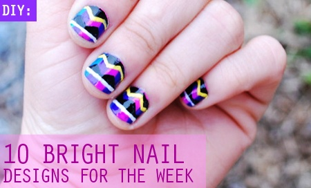 10 Bright Nail Designs for the Week