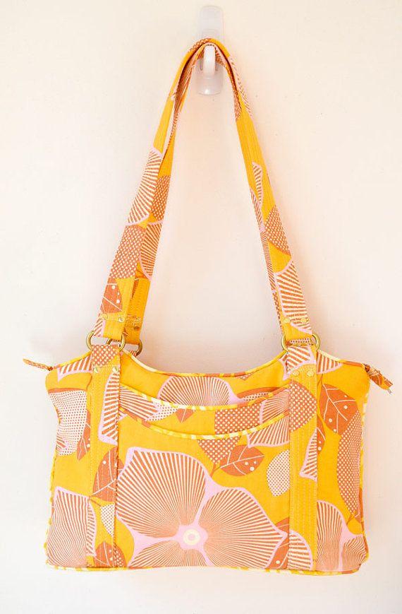 Designer Handbag Pattern PDF for sewing your own door ChrisWDesigns