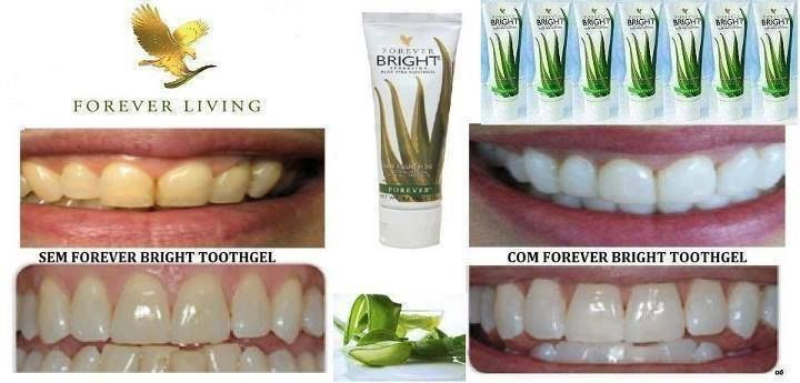 Fluoride free tooth gel