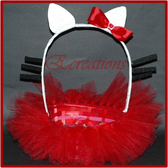 Hello Kitty tutu Easter Basket