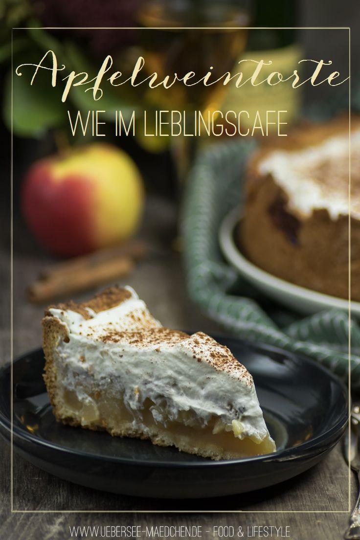 Rezept für einfache leckere Apfelweintorte wie im Lieblingscafé | Recipe for simple, delicious Applewine-Cake