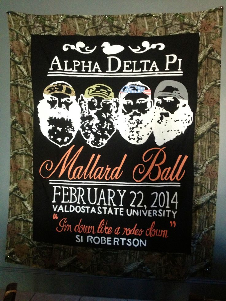 ADPi mallard ball #duckcalls&overalls #duckdynasty