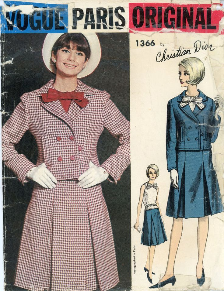 20 besten Vintage Sewing Patterns Bilder auf Pinterest | Vintage ...