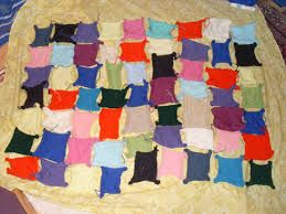 patchwork knitted blankets - Google Search