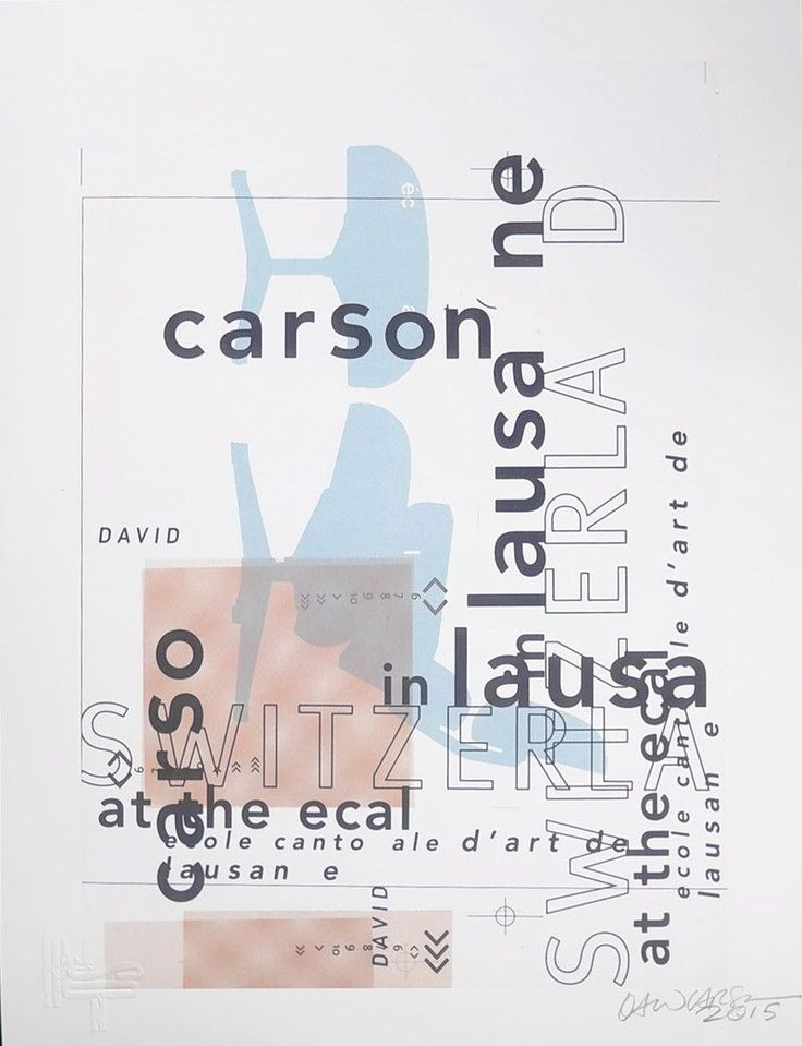 """Lausanne, Switzerland. 1997. Carson signed a small amount of """"test run"""" posters this summer. They're priced according to their smaller size and different paper quality. Once they run out we'll only be"""