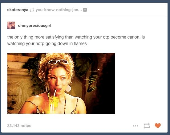23 Tumblr Posts About OTPs That Are Accurate AF