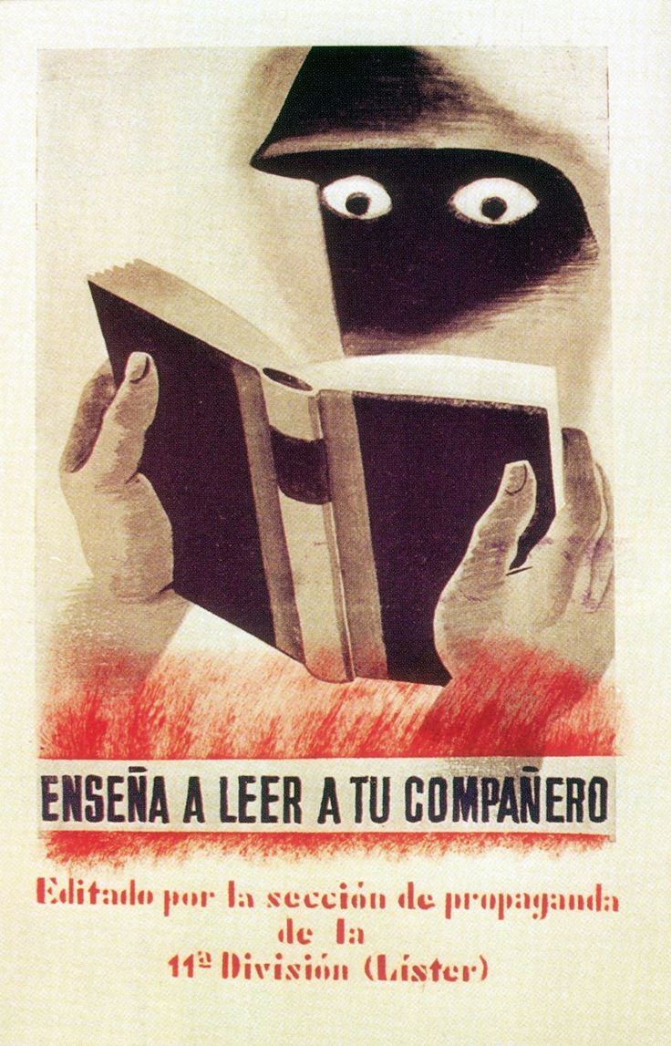 images about spanish civil war men and women spanish civil war poster teach your comrade to international brigades 1937