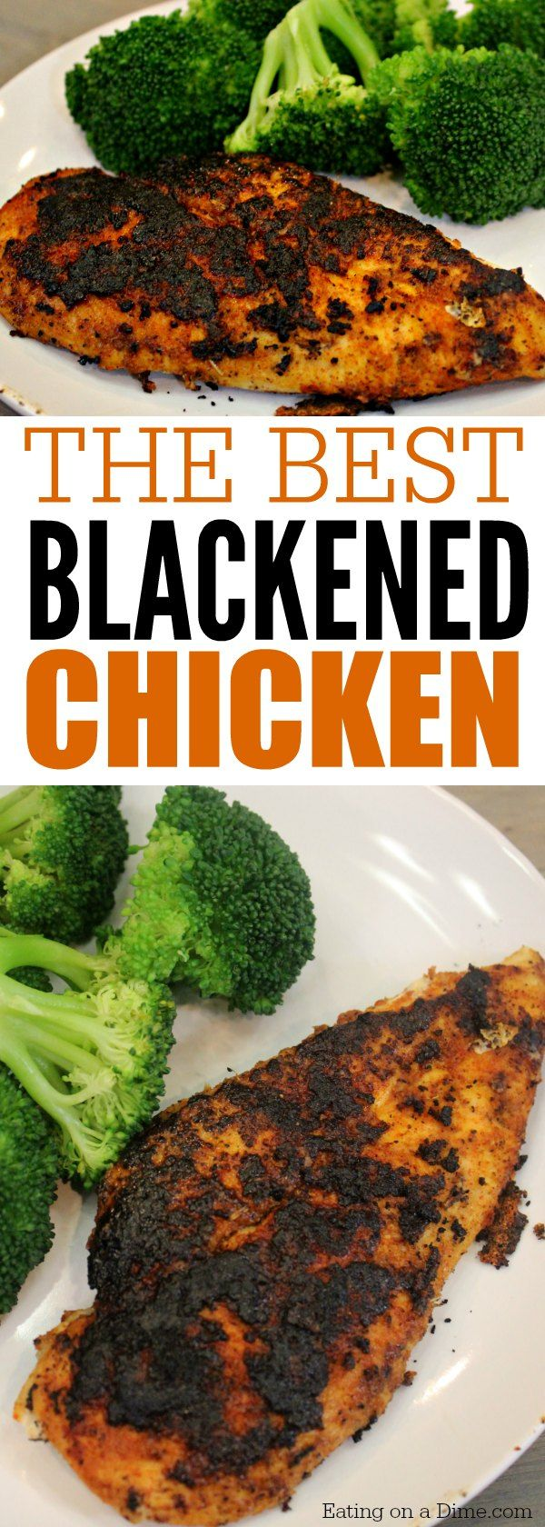 This is the best blackened chicken recipe. This quick and easy recipe is ready in 15 minutes from start to finish making it a quick dinner idea.