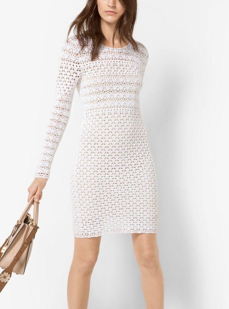 еловые, платье вязаное белое схемы и фото нее женщин улице