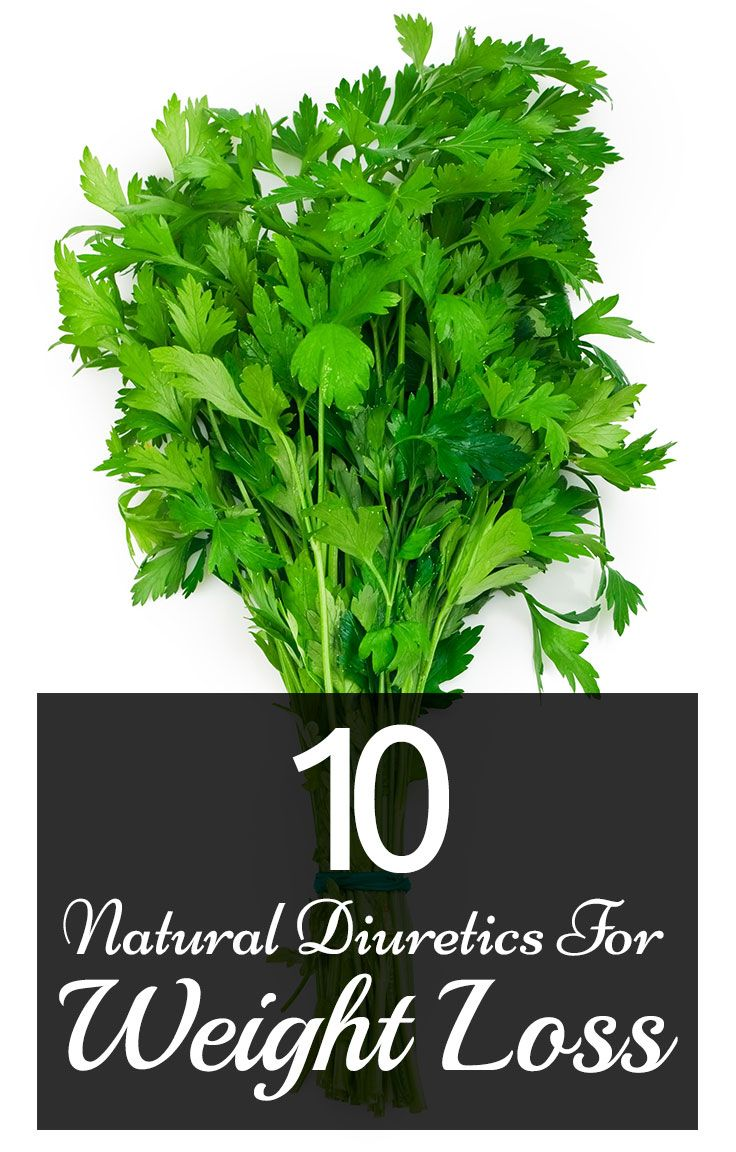 Top 10 Natural Diuretics For Weight Loss