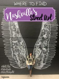 """Not only is Nashville home to Country Music and is nicknamed """"Music City"""", but it's also home to A LOT of amazing Wall Murals / Street Art. We recently visited Nashville, on the d…"""