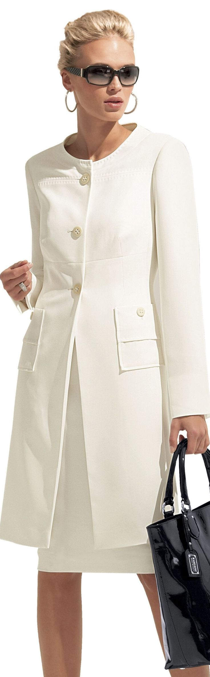 White dress coat - Find This Pin And More On Coats Or Coat And Dress Sets Or Ensembles