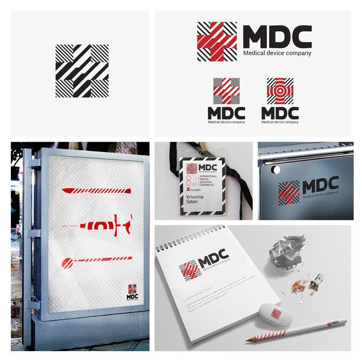 Transformer logo for Medical device company (MDC) #logo #branding #transformer