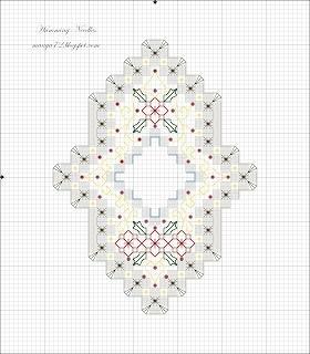 Hardanger Ornament Pattern no.4