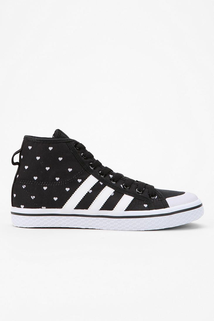 Adidas Honey Heart high-top sneaker