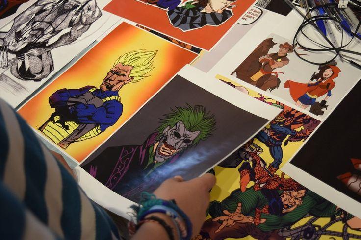 Φωτογραφίζοντας στην Comic-Con - Φωτογραφίες: Αλεξάνδρα Αγησιλάου(Lavart) / Δημήτρης Φαργκάνης (Lavart)