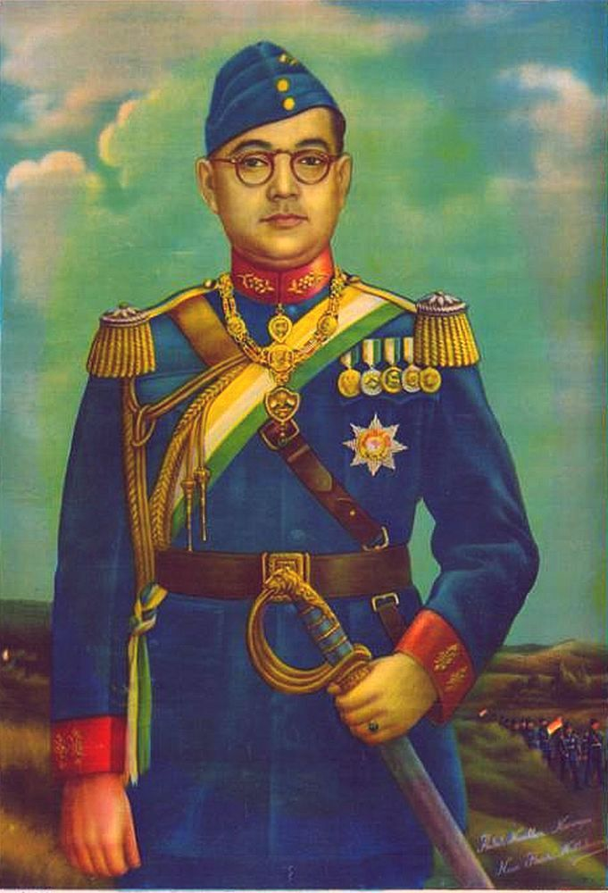 Happy Subhash Chandra Bose Jayanti Images Full HD Download