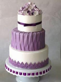 Pretty Simple Wedding Cake Designs 2014