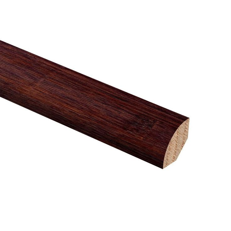 Bamboo Cafe 3/4 in. Thick x 3/4 in. Wide x 94 in. Length Wood Quarter Round Molding