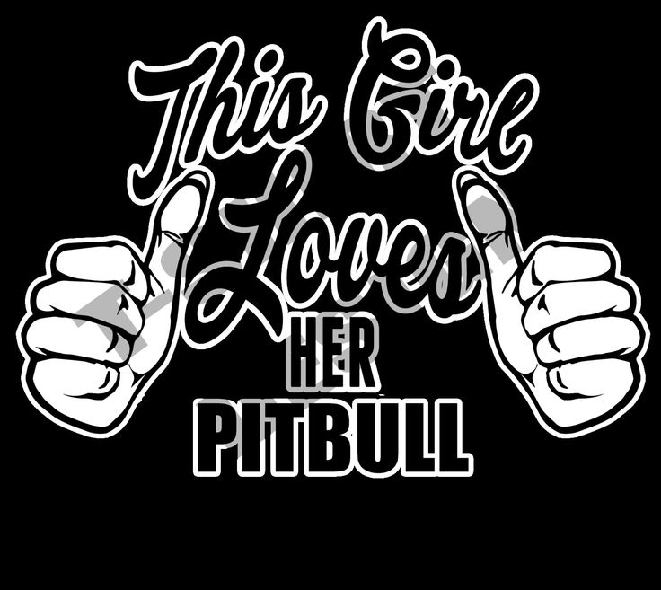 Transparent T-shirt design for Pitbull lovers by MugsAndAccessories on Etsy