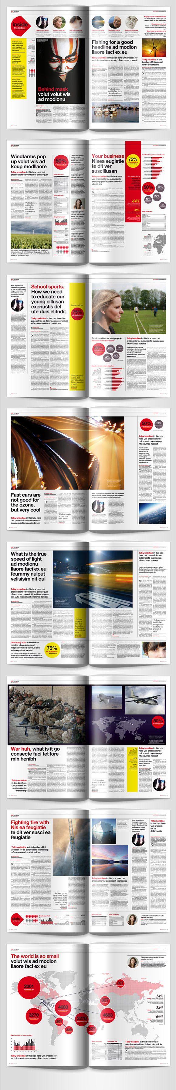 151 mejores imágenes de Magazine design inspiration en Pinterest ...
