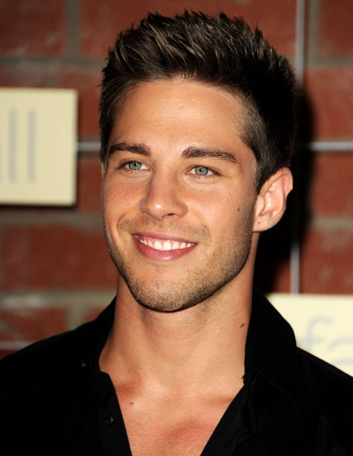 (Brody from Glee) Dean Geyer at the Fox Fall Eco-Casino Party in Los Angeles on September 10. 2012
