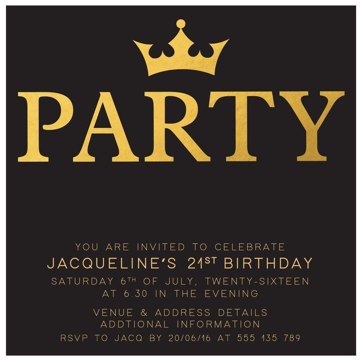 63 best invitations for women - birthday invitations images on, Birthday invitations