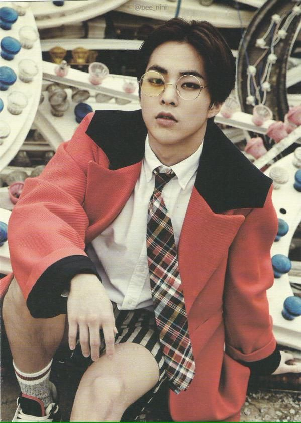 [SCAN/HQ] 150615 #EXO #Xiumin Love Me Right Goods ©mydelion