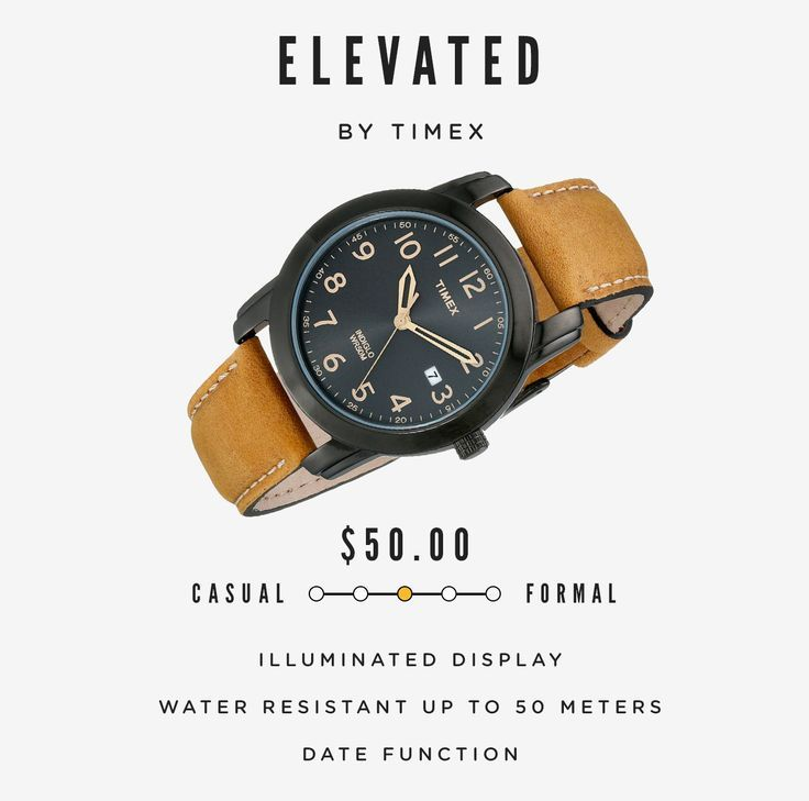 10 Classy Men's Watches Under $100 - mens watches on sale, mens cheap watches, mens watches large face