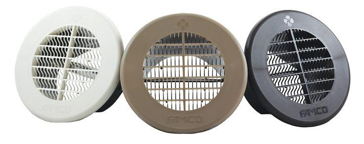 Soffit/Eave Vent with removable damper