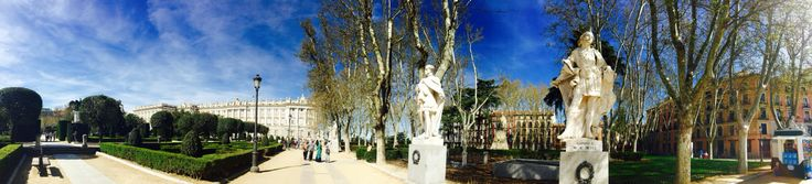 Plaza oriente Madrid