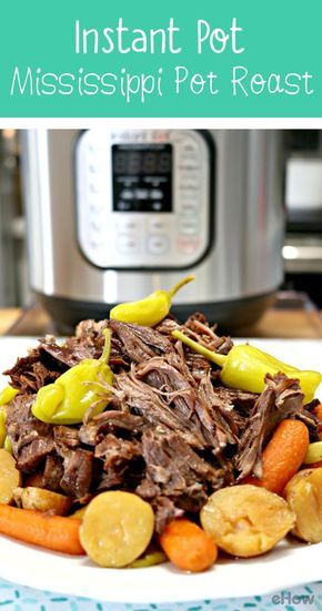 The Mississippi Roast is a very popular recipe, usually cooked in a slow cooker. Because the roast needs to cook low and slow, it can take up to 6 hours to cook. Cooking a Mississippi Roast in an Instant Pot takes much less time. It's easy to prepare and is packed full of flavor. Your family is guaranteed to love this delicious roast!