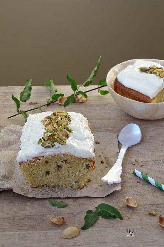 Plumcake de pistachos con chocolate. Receta. To be Gourmet | Gastronomía, recetas de cocina y restaurantes.