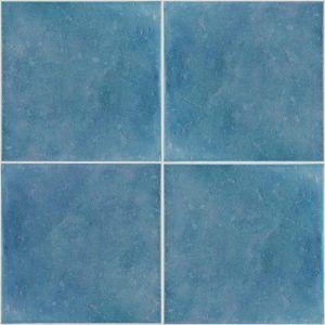 Turquoise Ceramic Floor Tiles