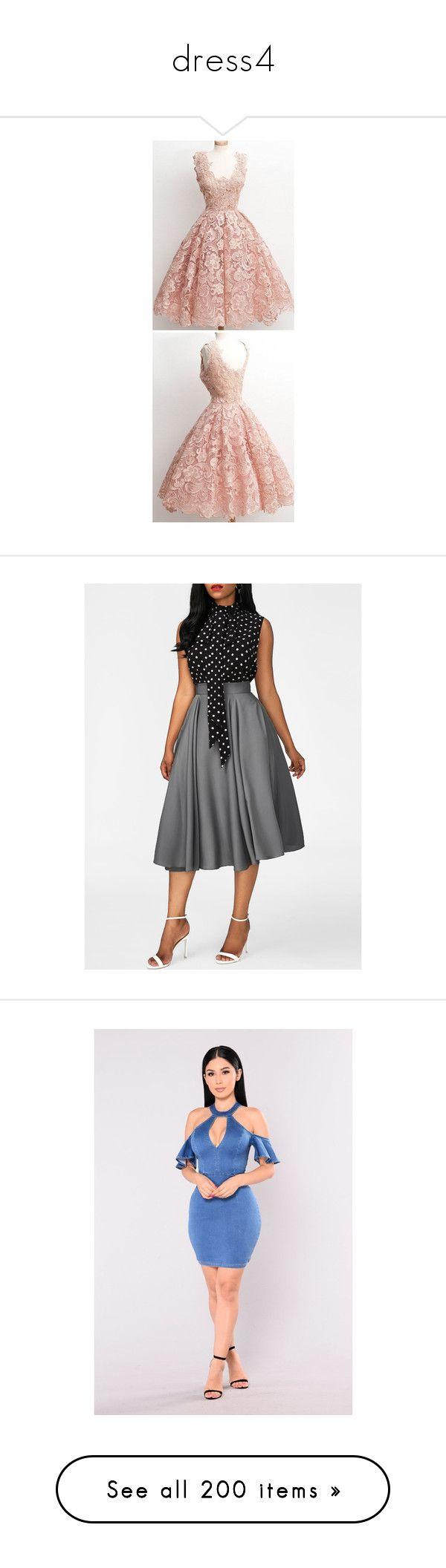 """""""dress4"""" by darkskinqueen ❤ liked on Polyvore featuring dresses, vintage prom dresses, pink dress, pink vintage dress, prom dresses, vintage dresses, cold shoulder denim dress, denim dresses, cut-out dresses and cutout shoulder dresses"""