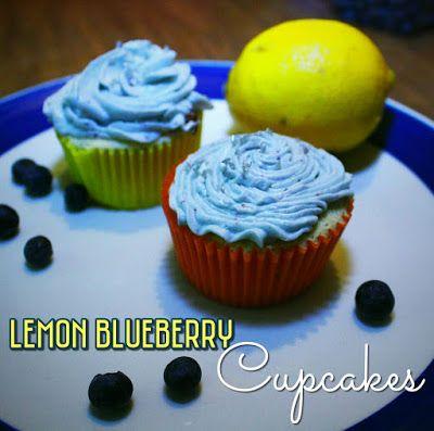 EmilyCanBake: Lemon Blueberry Cupcakes