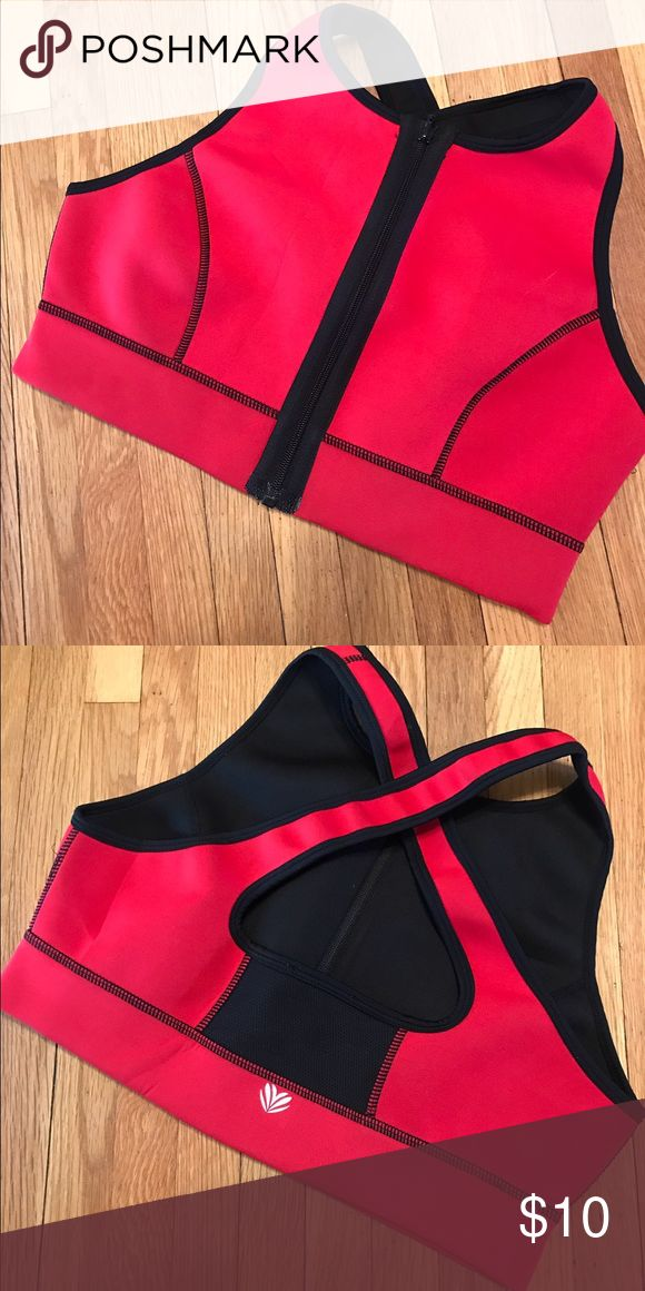 Forever 21 Surf Bikini Top Super cute neoprene surf bikini top from Forever 21. Very supportive and secure. Zips up in the front. Can also be worn as a sports bra. Never been used. NWOT. Forever 21 Swim Bikinis