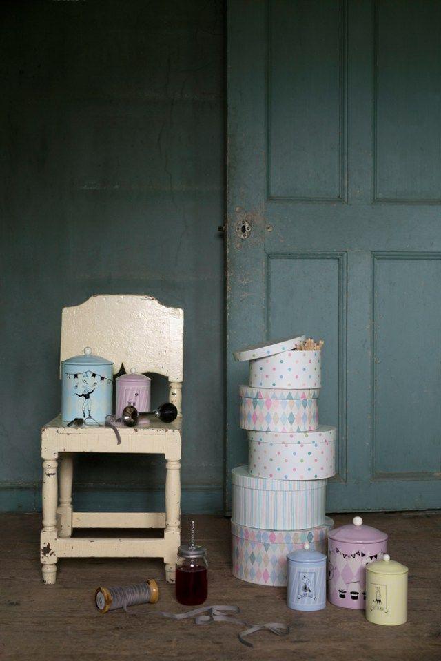 Strömshaga, Stromshaga, Barnrum, Kids room, toys, pastels, tins, plåtburkar