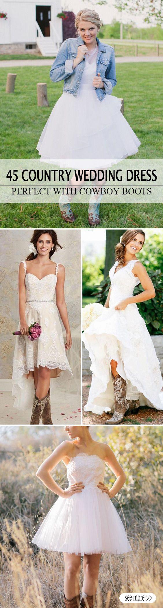 The 25+ best Short country wedding dress ideas on Pinterest ...
