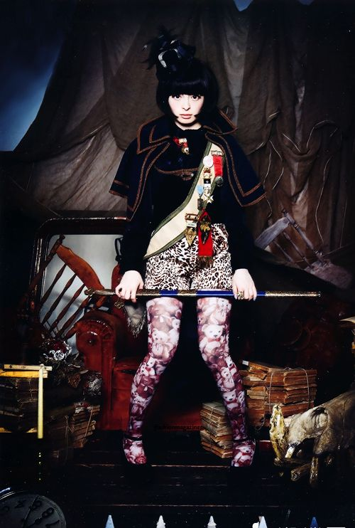 KERA July 2012 | Kyary Pamyu Pamyu as neo-Napoleon
