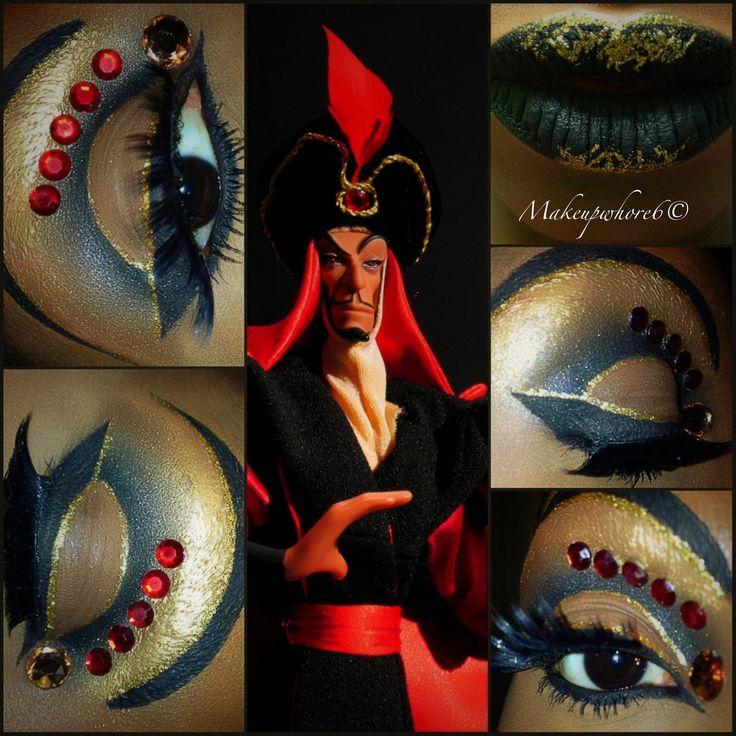 Jafar #Inspired #makeup #villian #Halloween #DisneyMovies #Alladin # ...