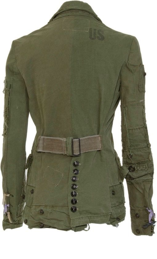 Military Chic from blog The peach skin