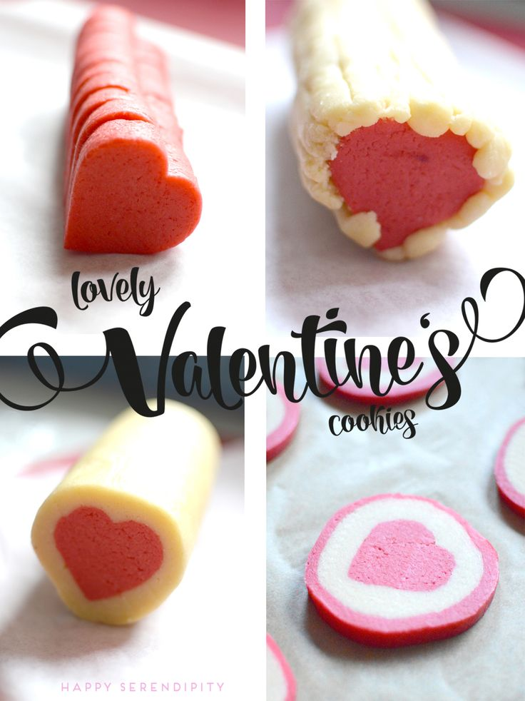 lovely cookies with a heart inside. very easy to make. | check it out at http://happyserendipity.com/rezept-herzige-muerbteigplaetzchen/