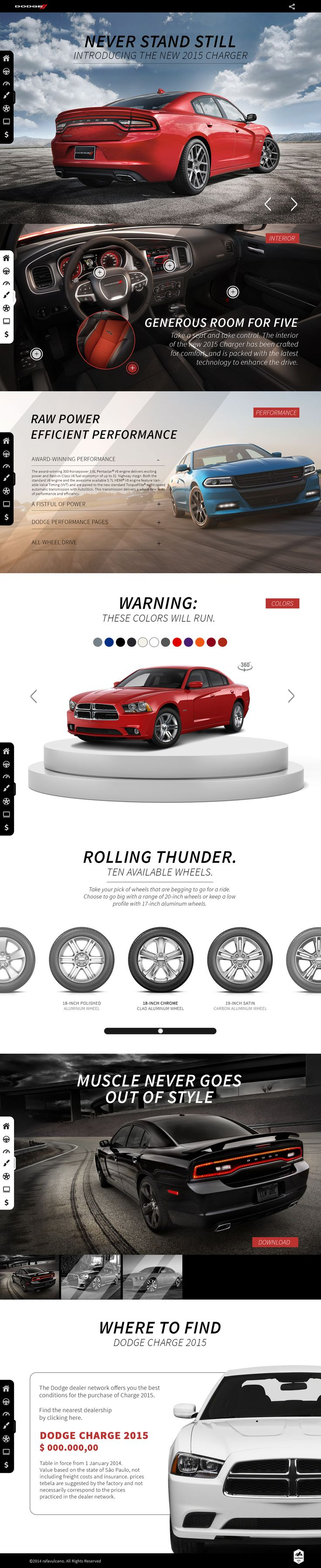 Dodge Charger 2015 https://www.behance.net/gallery/18790937/Dodge-Charger-2015