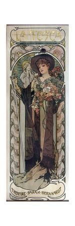 Poster for the Play La Tosca by Victorien Sardou, 1899 Giclee Print by Alphonse Mucha at Art.com